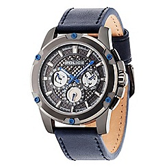 Police - Men's Grid multifunction strap watch