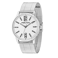 Police - Men's Esquire stainless steel bracelet watch