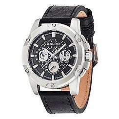 Police - Men's Grid multifunction strap watch