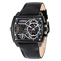 Police - Men's Scorpion multifunction strap watch