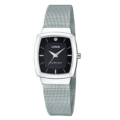 Lorus - Ladies silver mesh bracelet watch