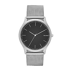 Skagen - Men's silver quartz bracelet watch