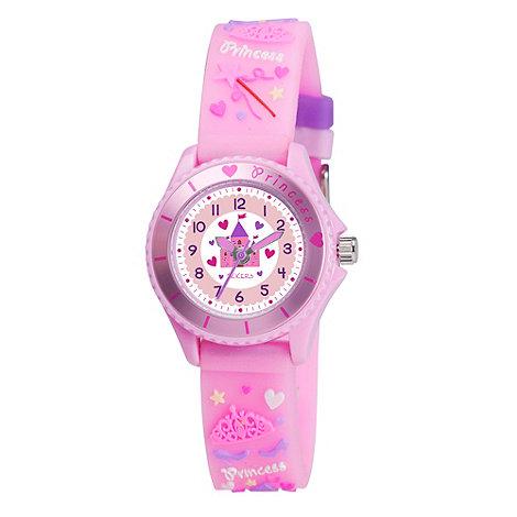 Tikkers - Kids+ pink +princess+ watch