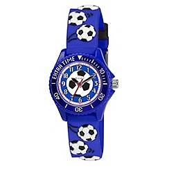 Tikkers - Kids' blue football watch