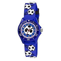 Tikkers - Kids' blue football watch