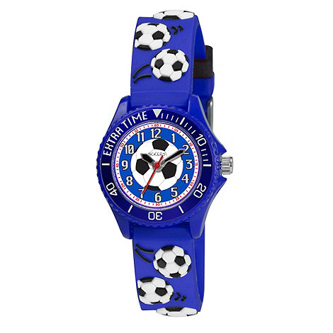 Tikkers - Kids+ blue football watch