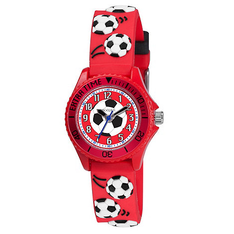Tikkers - Kids+ red football watch