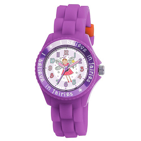 Tikkers - Kids+ purple fairy watch