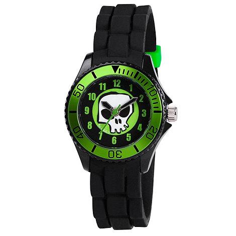 Tikkers - Kids+ black skull watch