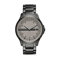 Armani Exchange - Mens Grey bracelet watch