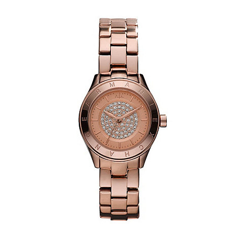 Armani Exchange - Ladies rose gold bracelet watch