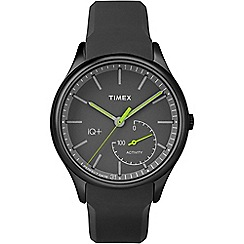 Timex - Mens IQ+ Activity black dial watch