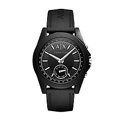 Armani Exchange - Men's black hybrid smart watch