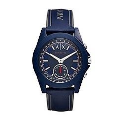 Armani Exchange - Men's blue hybrid smart watch