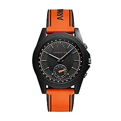 Armani Exchange - Men's orange hybrid smartwatch