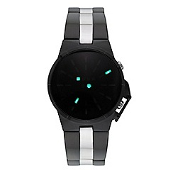 STORM - Men's black solar dial bracelet watch