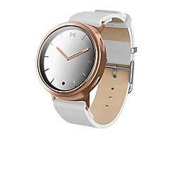 Misfit - White 'Phase' Hybrid smart watch