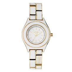 STORM - Ladies white enamel watch
