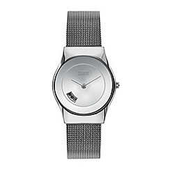 STORM - Ladies silver mesh strap watch