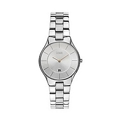 STORM - Ladies silver round dial watch