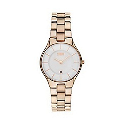 STORM London - Ladies rose round dial watch slimxrosegold