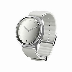 Misfit - White and silver 'Phase' Hybrid smart watch