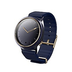 Misfit - Blue and gold 'Phase' Hybrid smart watch