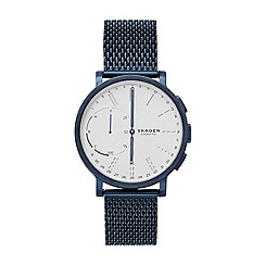 Skagen - Men's blue hybrid smart watch'