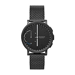 Skagen - Men's black analog bracelet watch