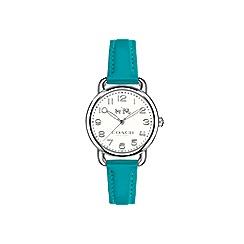 Coach - Ladies green 'Delancey' watch