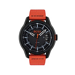 Boss Orange - Mens hong kong orange strap watch