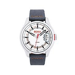 Boss Orange - Mens hong kong grey strap watch