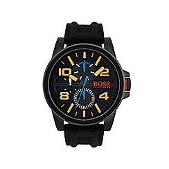 Boss Orange - Mens detroit black strap watch