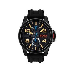 Boss Orange - Mens detroit black strap watch