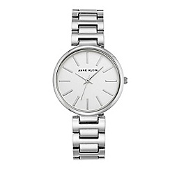 Anne Klein - Women's watch with silver case and silver bracelet