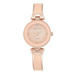 Anne Klein - Women's watch with rose gold case, diamond and rose gold bracelet