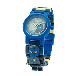 LEGO - Ninjago hands of time jay minifigure link watch