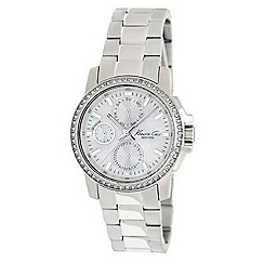 Kenneth Cole - Ladies silver mother of pearl dial watch