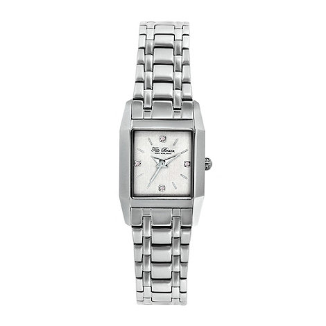 Ted Baker - Designer ladies silver bracelet watch
