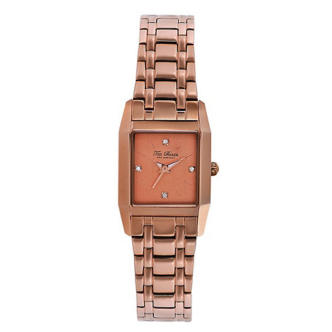 Ted Baker - Designer ladies rose bracelet watch