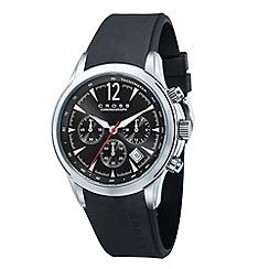 Cross - Men's black chronograph dial watch
