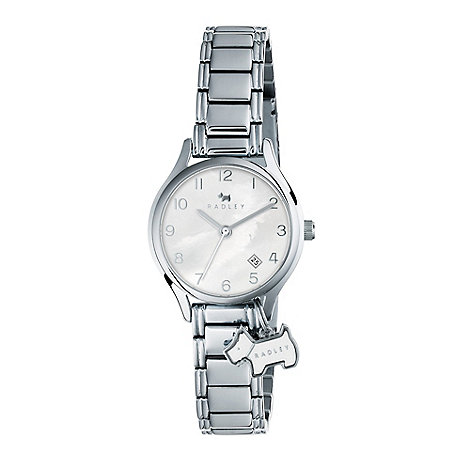 Cross - Ladies' silver mother of pearl dial bracelet watch