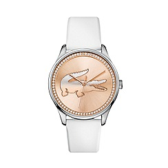 Lacoste - Ladies white  strap watch
