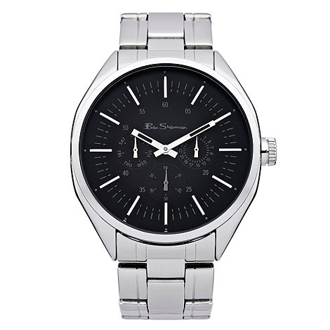 Ben Sherman - Men+s silver bracelet watch