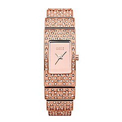 Oasis - Ladies rose diamante watch