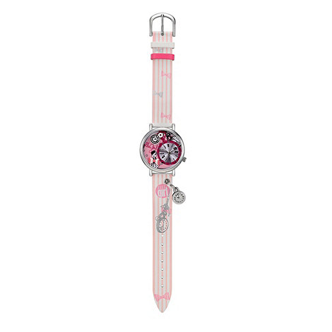 Elle Girl - Kids+ pink 3D charm watch