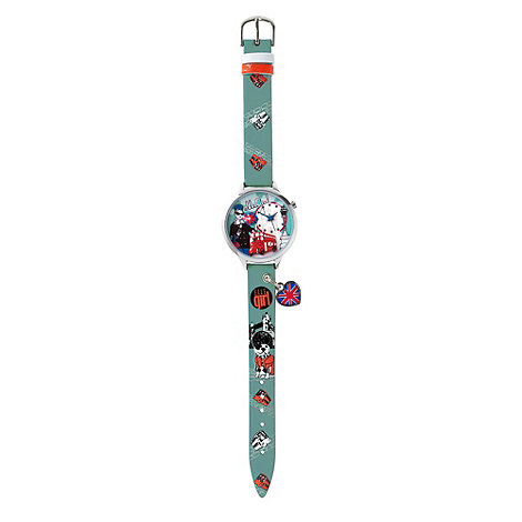 Elle Girl - Kids+ green 3D heart flag watch