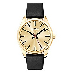 Limit - Men's gold plated strap watch