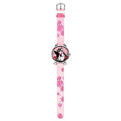 Elle Girl - Kids' pink cat paw watch