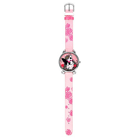 Elle Girl - Kids+ pink cat paw watch